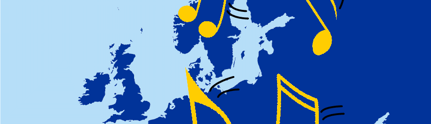 Music map of Europe R3